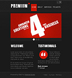 Turnkey CMS Facebook Theme #35908