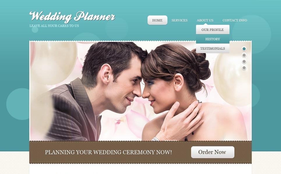 Wedding Planner Website Template New Screenshots BIG