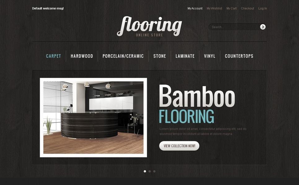 Flooring Magento Theme New Screenshots BIG