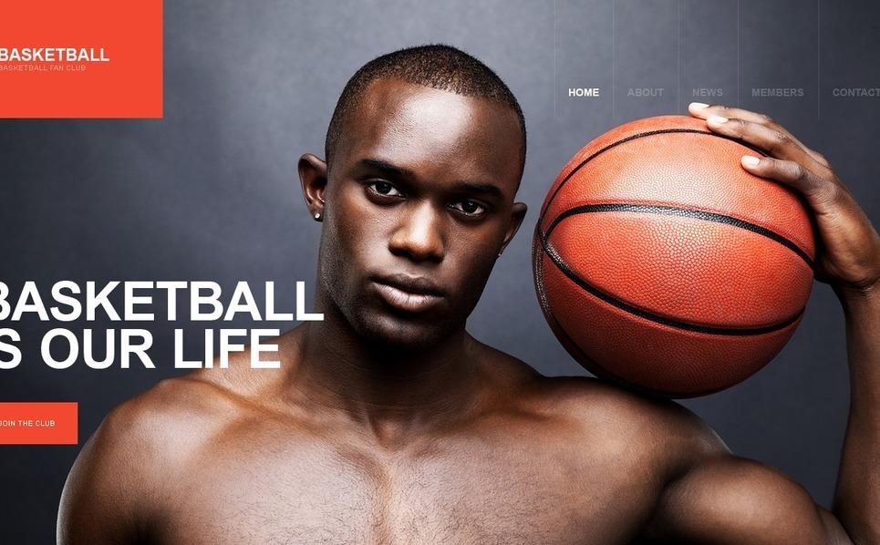 Basketball WordPress Theme New Screenshots BIG