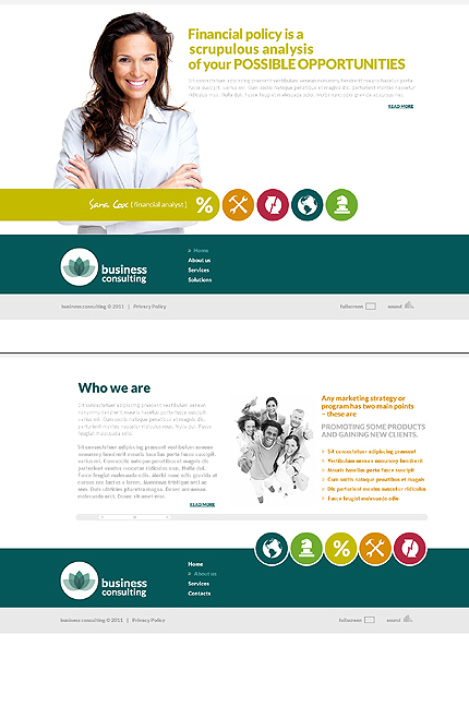 Website Template #36011