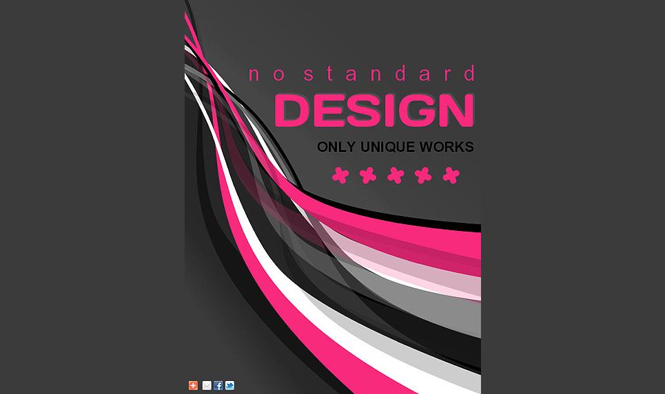Web Design Facebook Template New Screenshots BIG