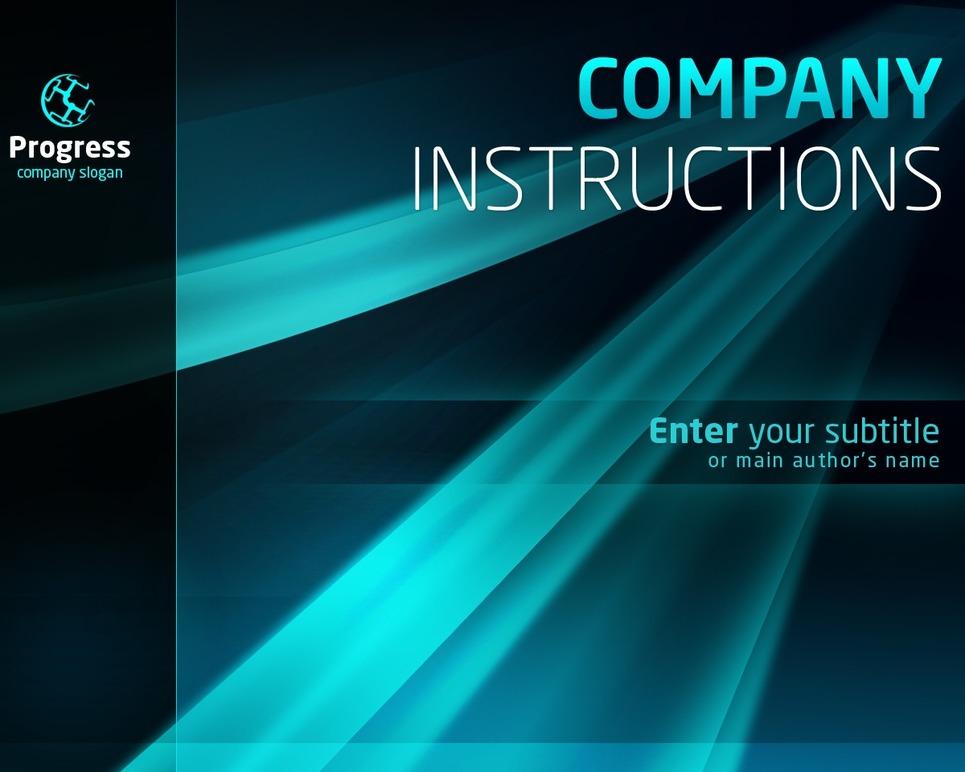 Business PowerPoint Template New Screenshots BIG