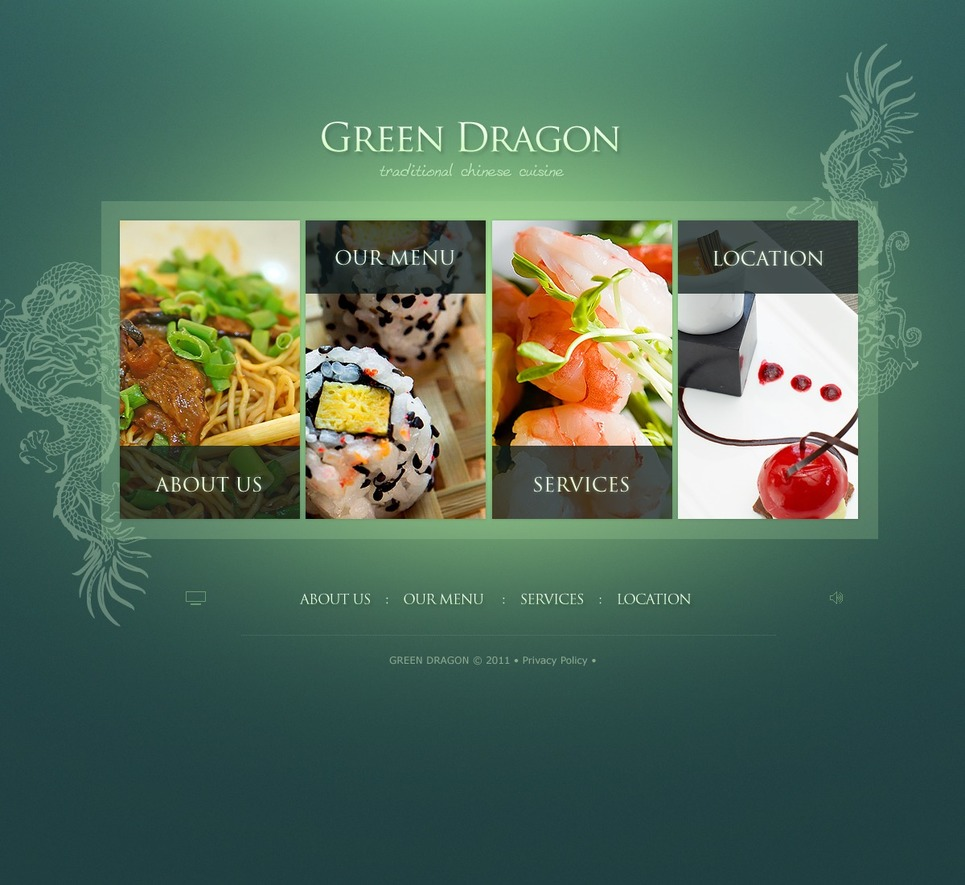 Seafood Restaurant Flash Template New Screenshots BIG