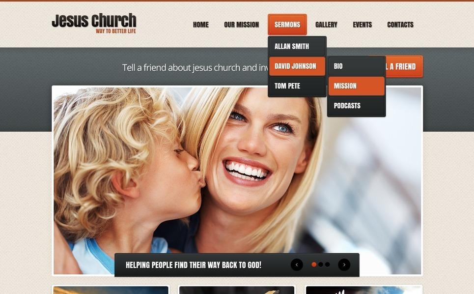 Christian WordPress Theme New Screenshots BIG