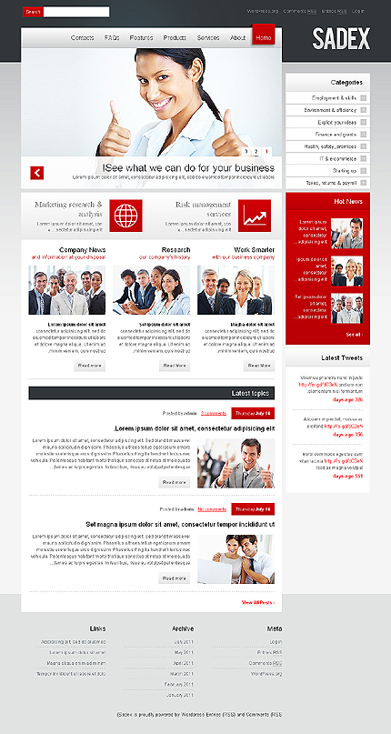 Website Template #36148