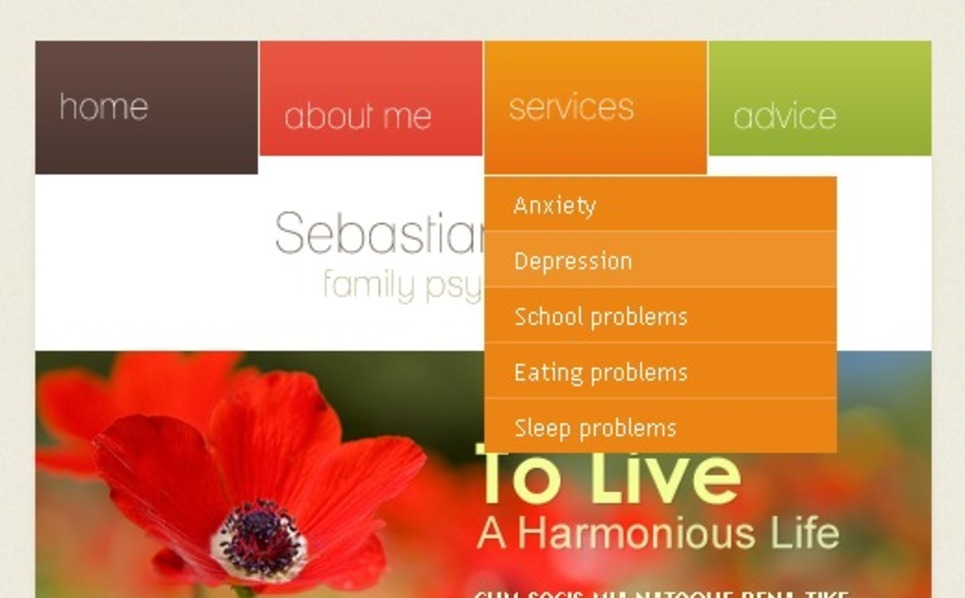 Psychologist Facebook Template New Screenshots BIG
