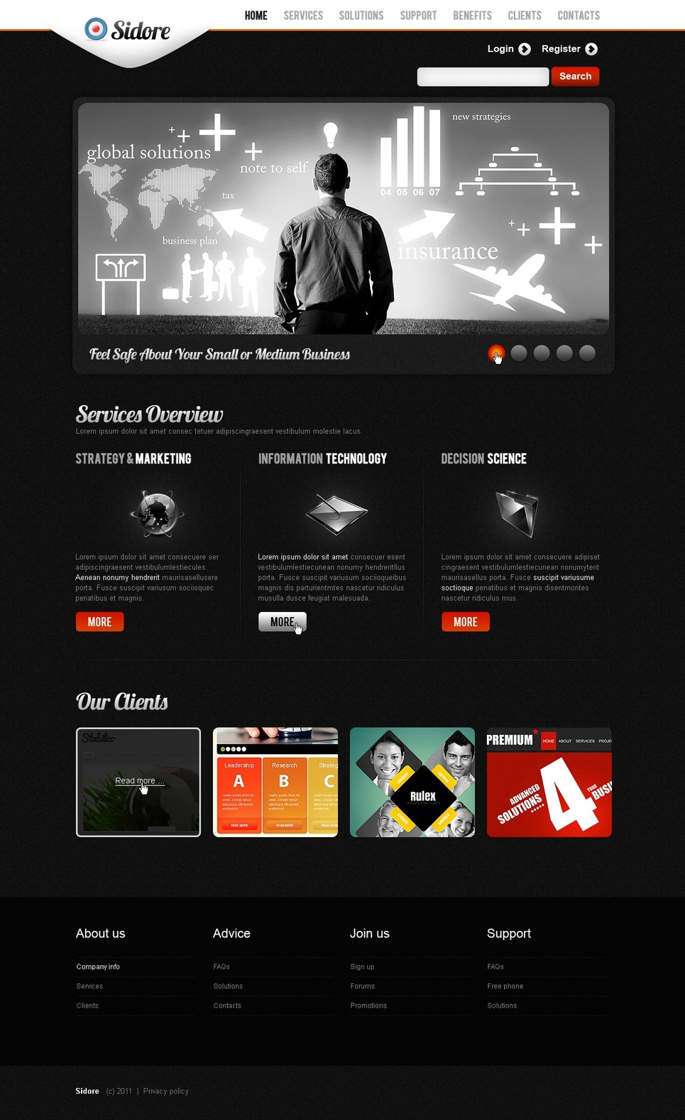 Business Joomla Template New Screenshots BIG