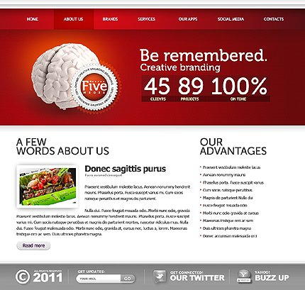 Website Template #36230