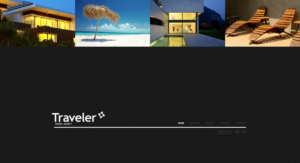 Go Abroad with Travel Flash CMS Template - image