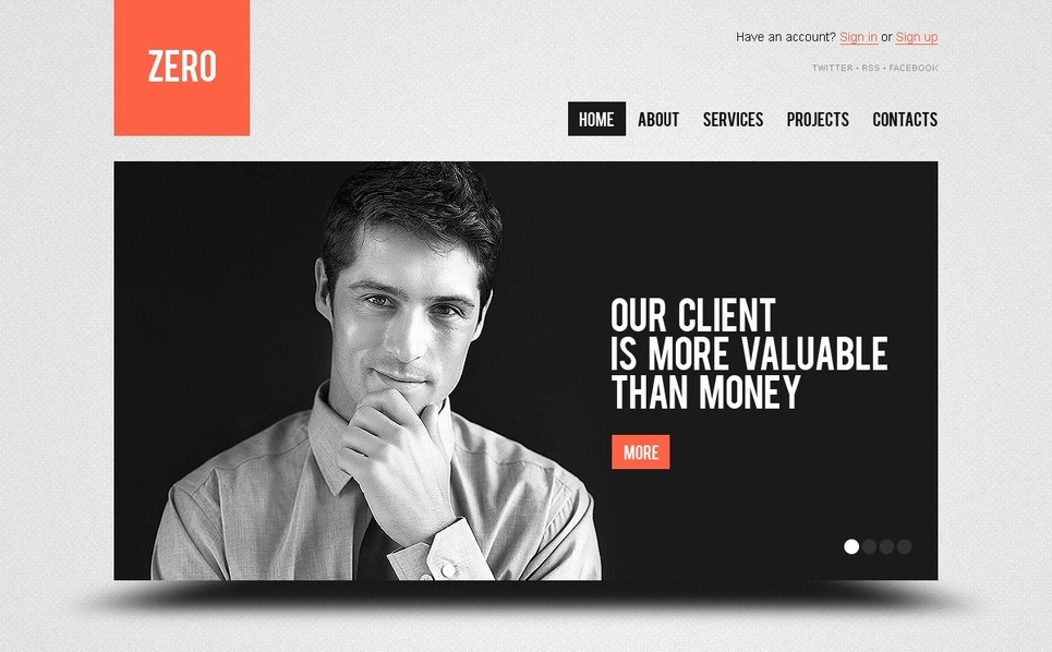 Investment Company WordPress Theme New Screenshots BIG