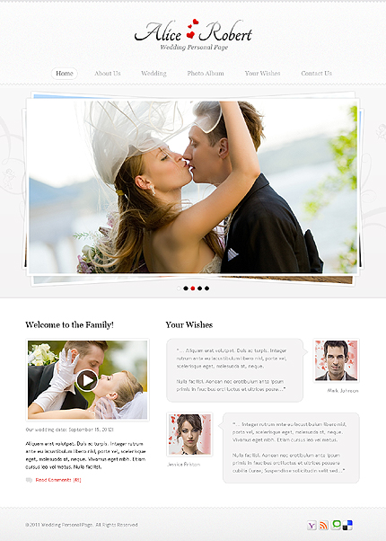 Website Template #36299
