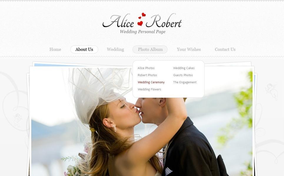 Wedding Website Template New Screenshots BIG