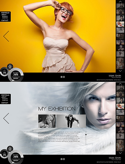 Website Template #36322