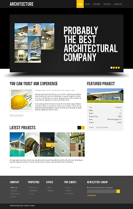 Website Template #36365