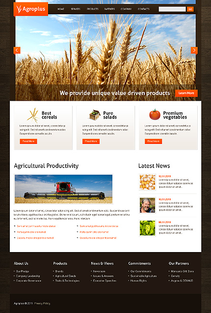 Website Template #36391