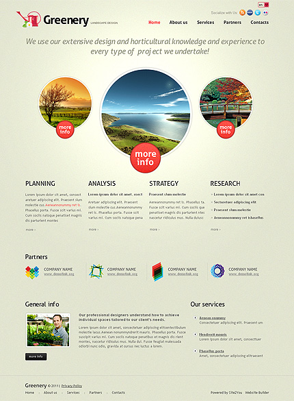 Website Template #36429