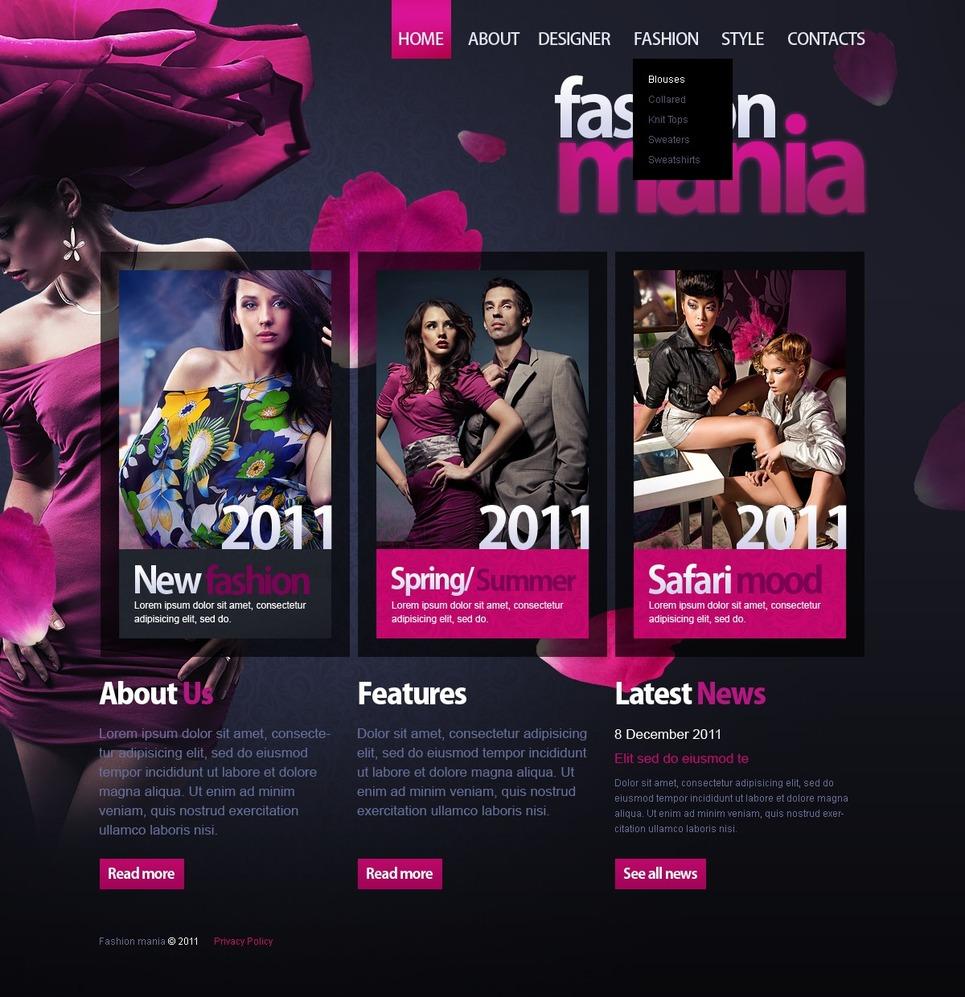 Fashion Turnkey Website 2.0 New Screenshots BIG