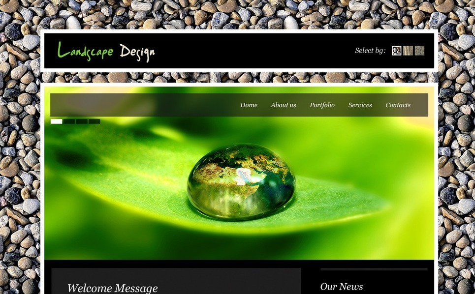 Landscape Design Turnkey Website 2.0 New Screenshots BIG
