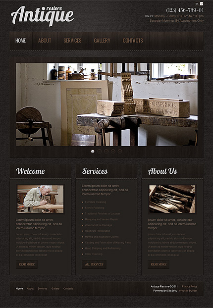 Website Template #36433