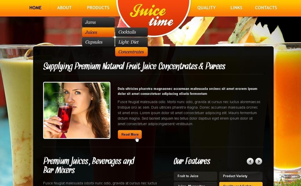 Food & Drink Turnkey Website 2.0 New Screenshots BIG