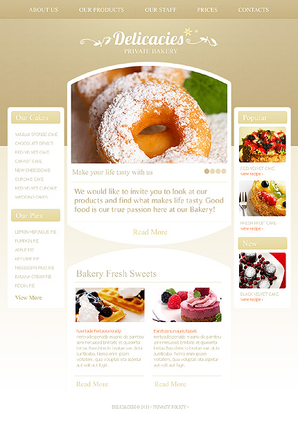 Website Template #36485