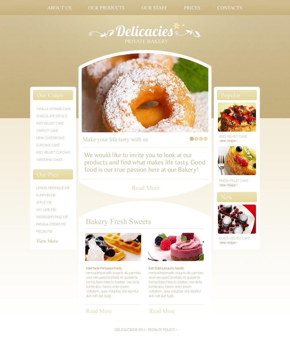 Bakery WordPress Theme New Screenshots BIG