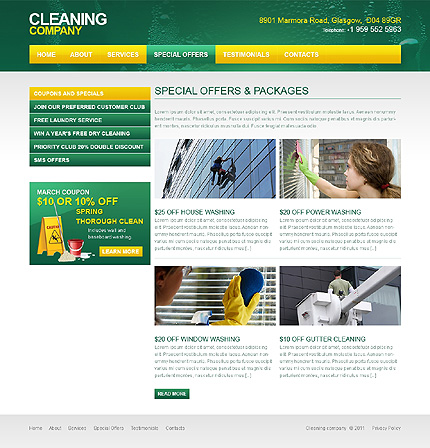 Website Template #36572