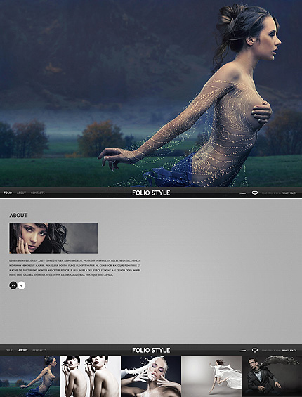 Website Template #36582