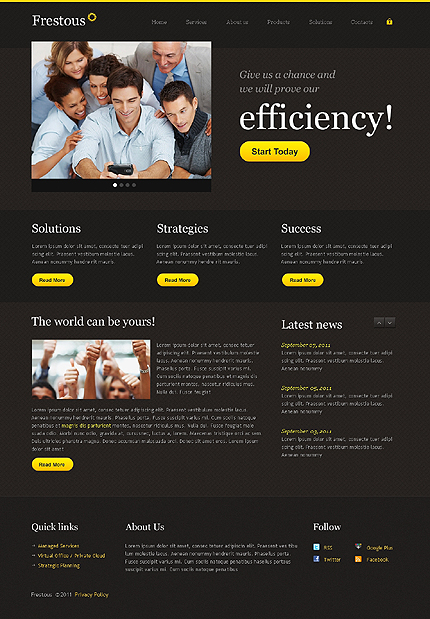 Website Template #36598