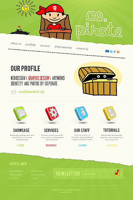 Website Template #36642