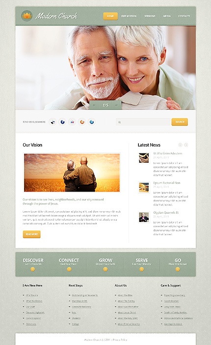 Website Template #36651