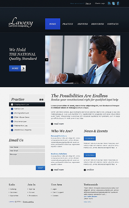 Website Template #36659