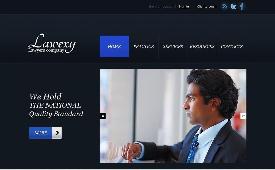 Lawyer Website Template New Screenshots BIG
