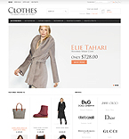 Clothes Store - PrestaShop Theme #36665 by Hermes