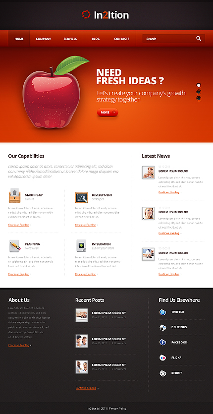Website Template #36697