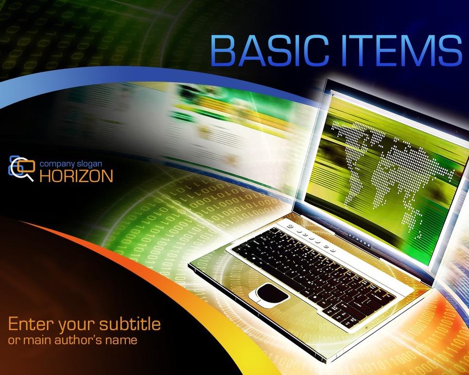 IT PowerPoint Template New Screenshots BIG
