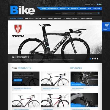 Cycling ZenCart Template
