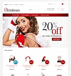 Christmas store - PrestaShop Theme #36780 by Hermes