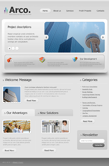 Website Template #36800