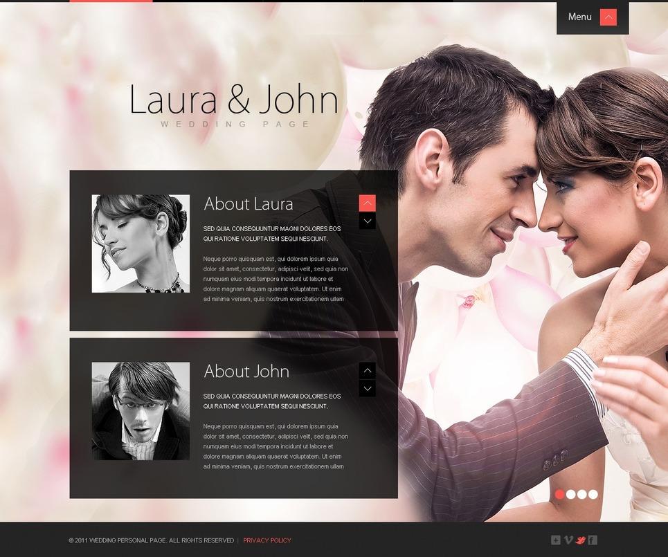 Wedding Album Website Template New Screenshots BIG