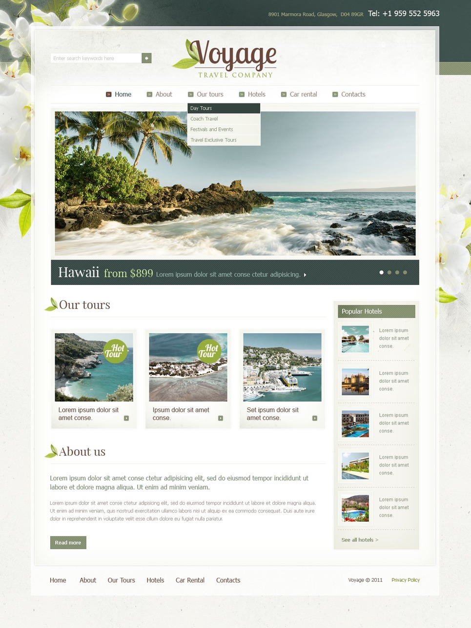 travel agency website template web design templates website templates download travel agency. Black Bedroom Furniture Sets. Home Design Ideas