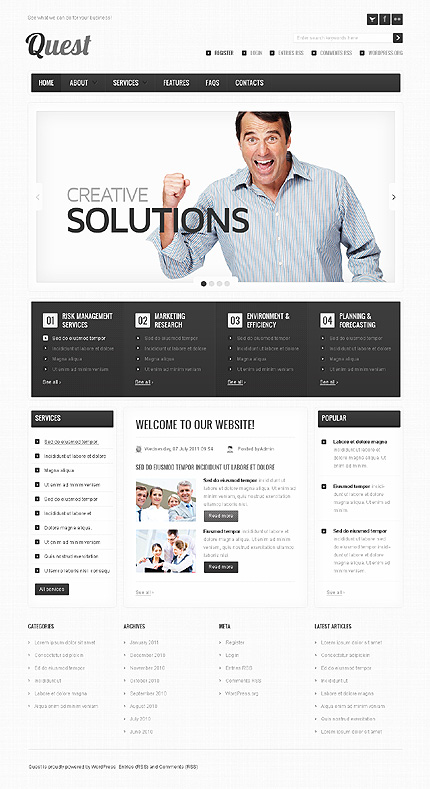 Website Template #36862