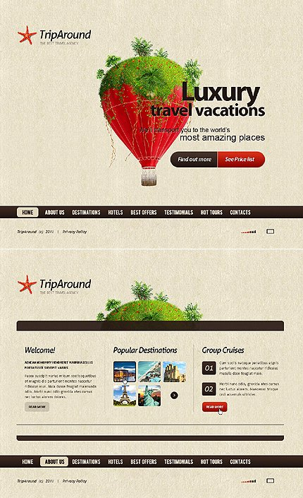 Website Template #36867