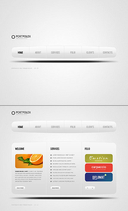 Website Template #36870