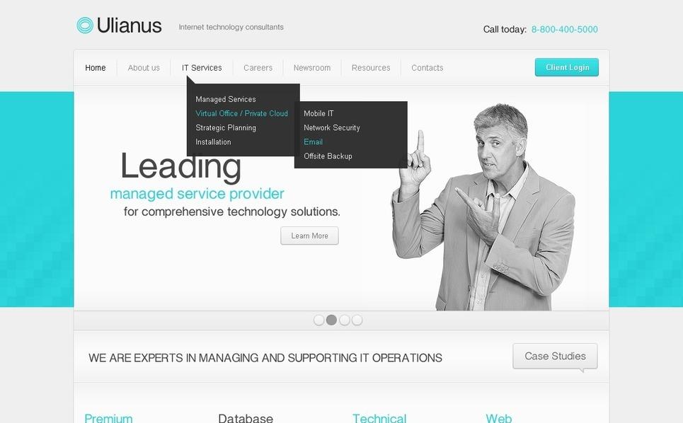Internet WordPress Theme New Screenshots BIG