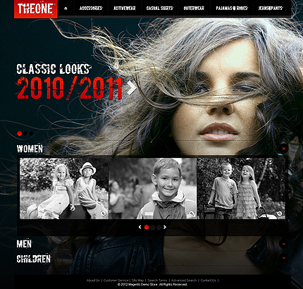 Theone - Best Magento Fashion Store Theme
