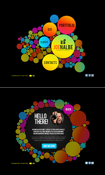 Website Template #37005