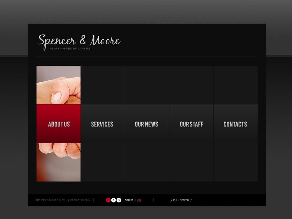 Law Firm Silverlight Template New Screenshots BIG