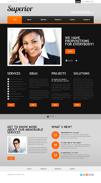Website Template #37094